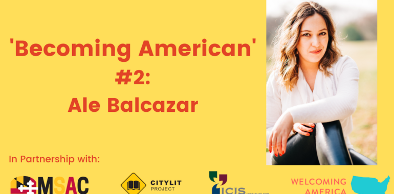 CityLit Presents 'Becoming American' #2: Ale Balcazar