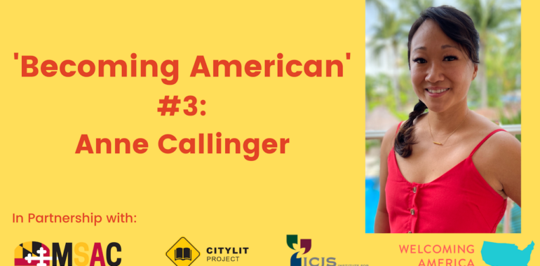 CityLit Presents 'Becoming American' #3: Anne Callinger